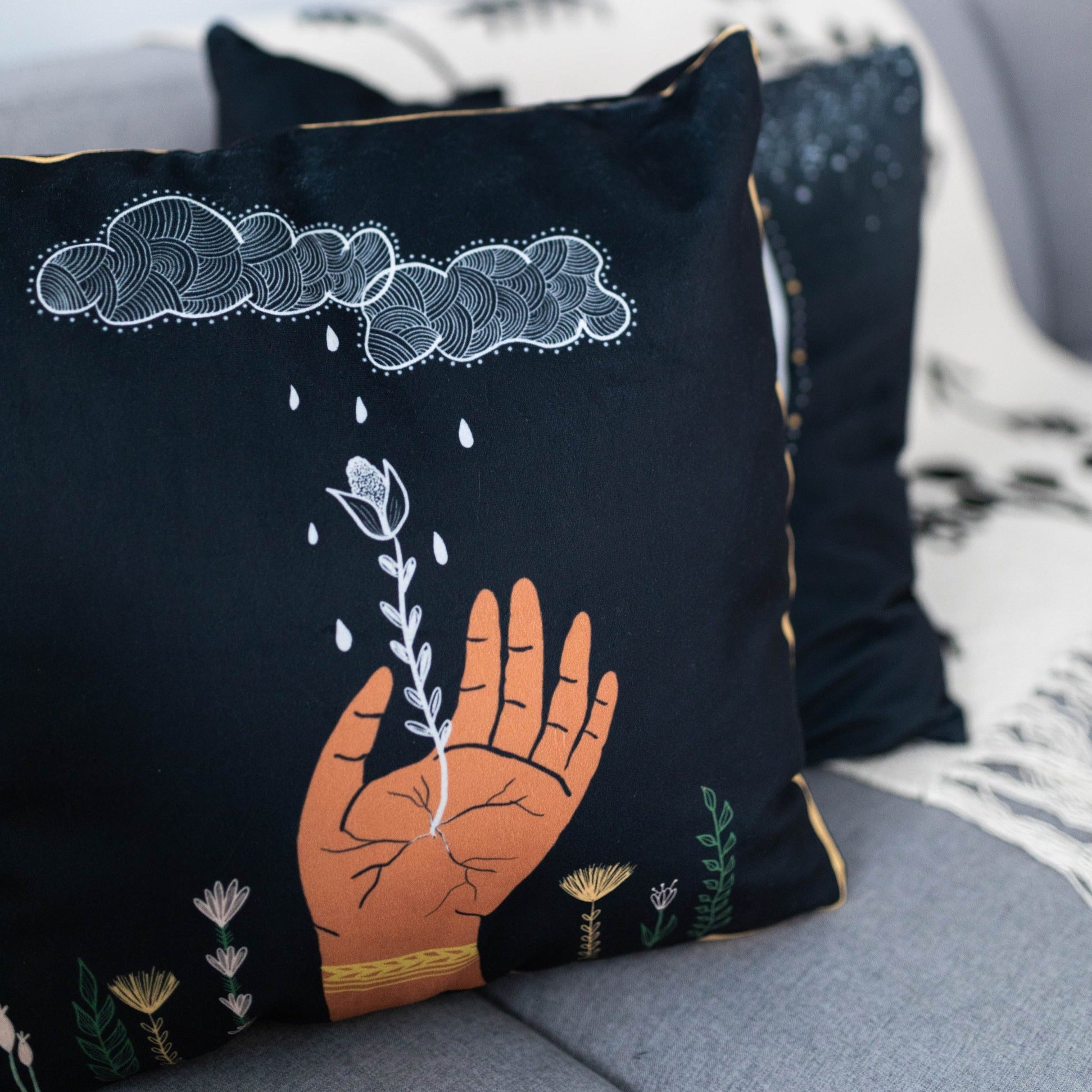 Pachamama Pillow Cover