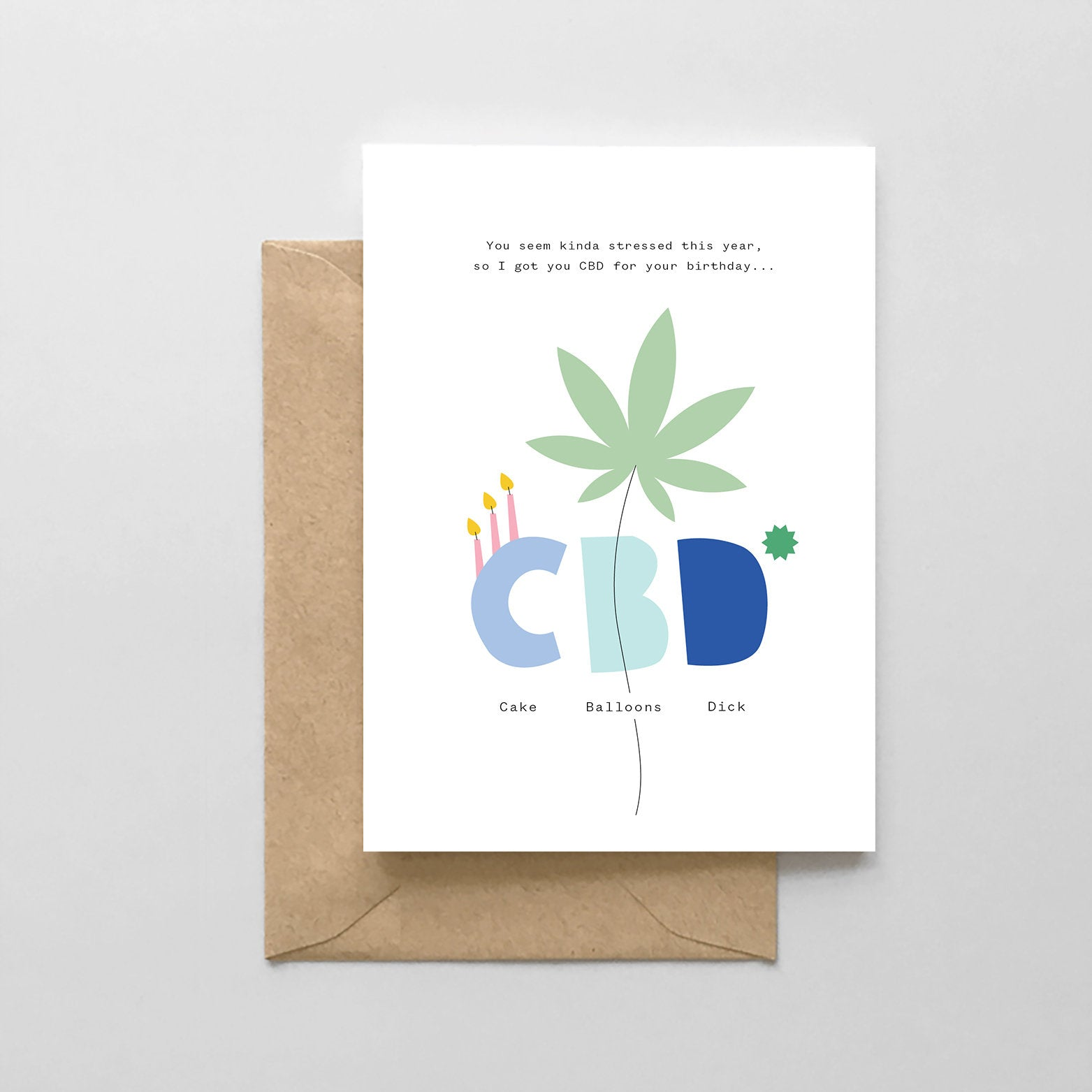 CBD Birthday Card