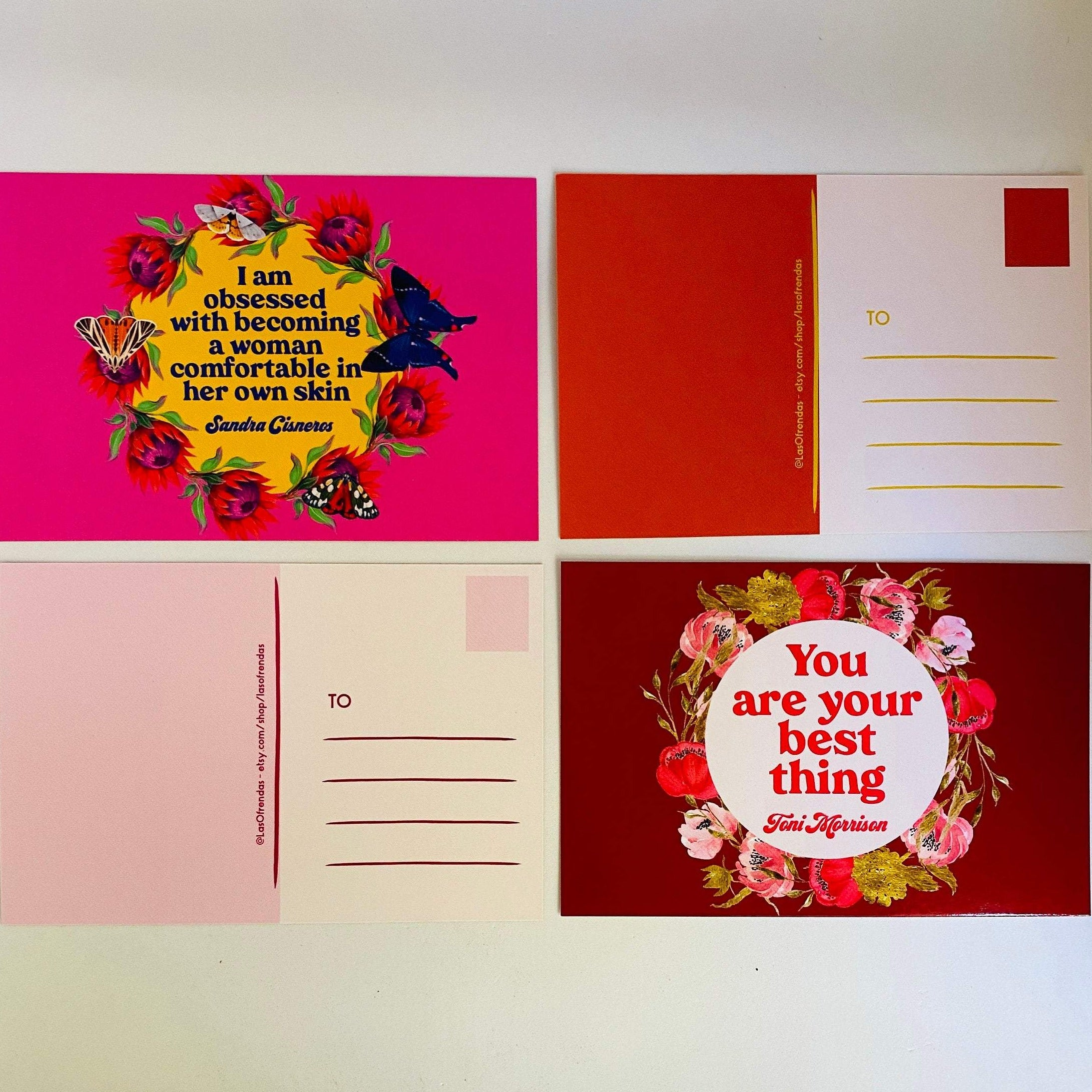 Power Quotes Postcard - 4 Pack