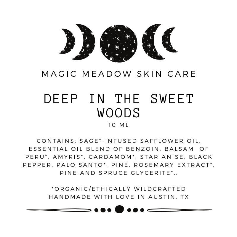 Deep In The Sweet Woods Aromatherapy Oil