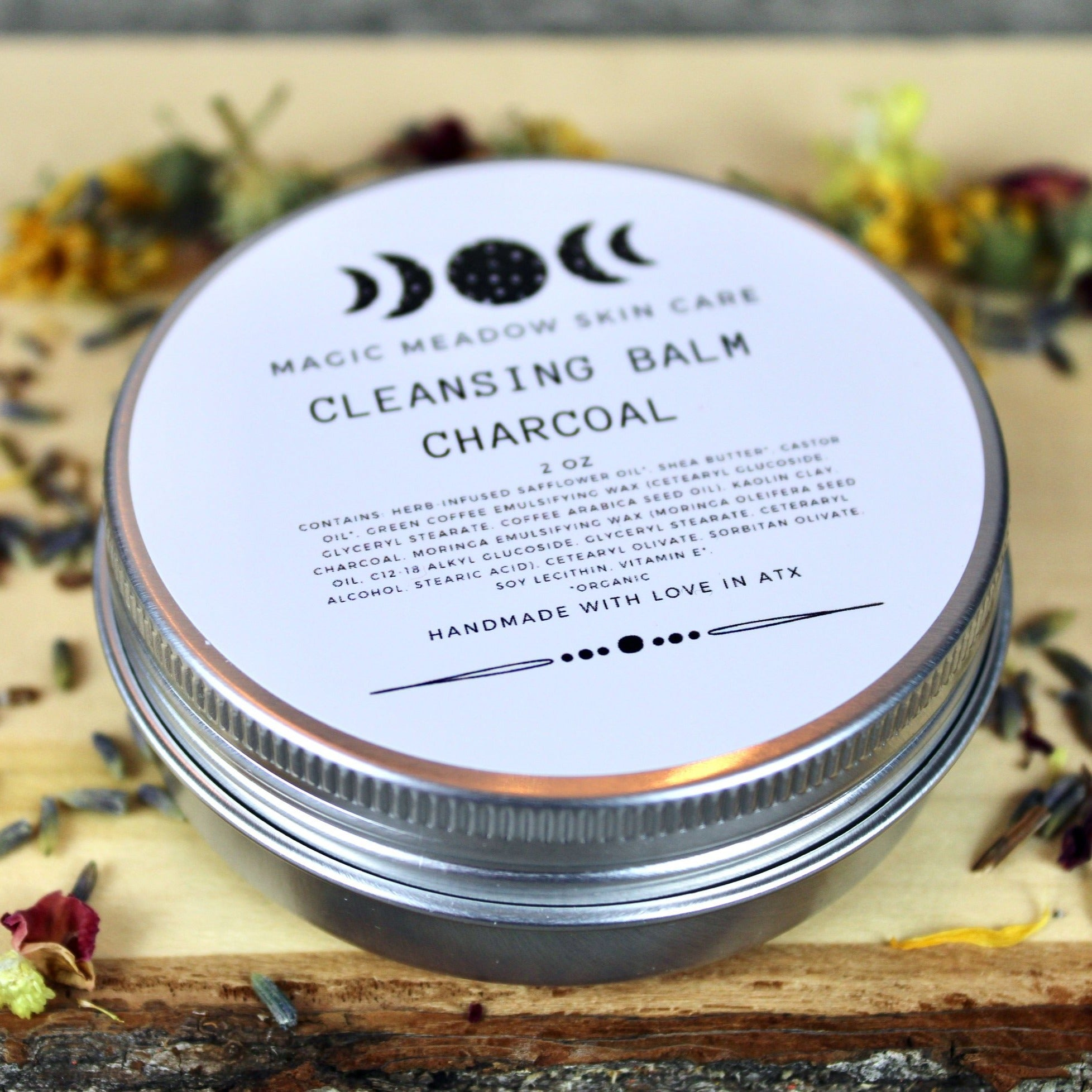 Charcoal Cleansing Balm