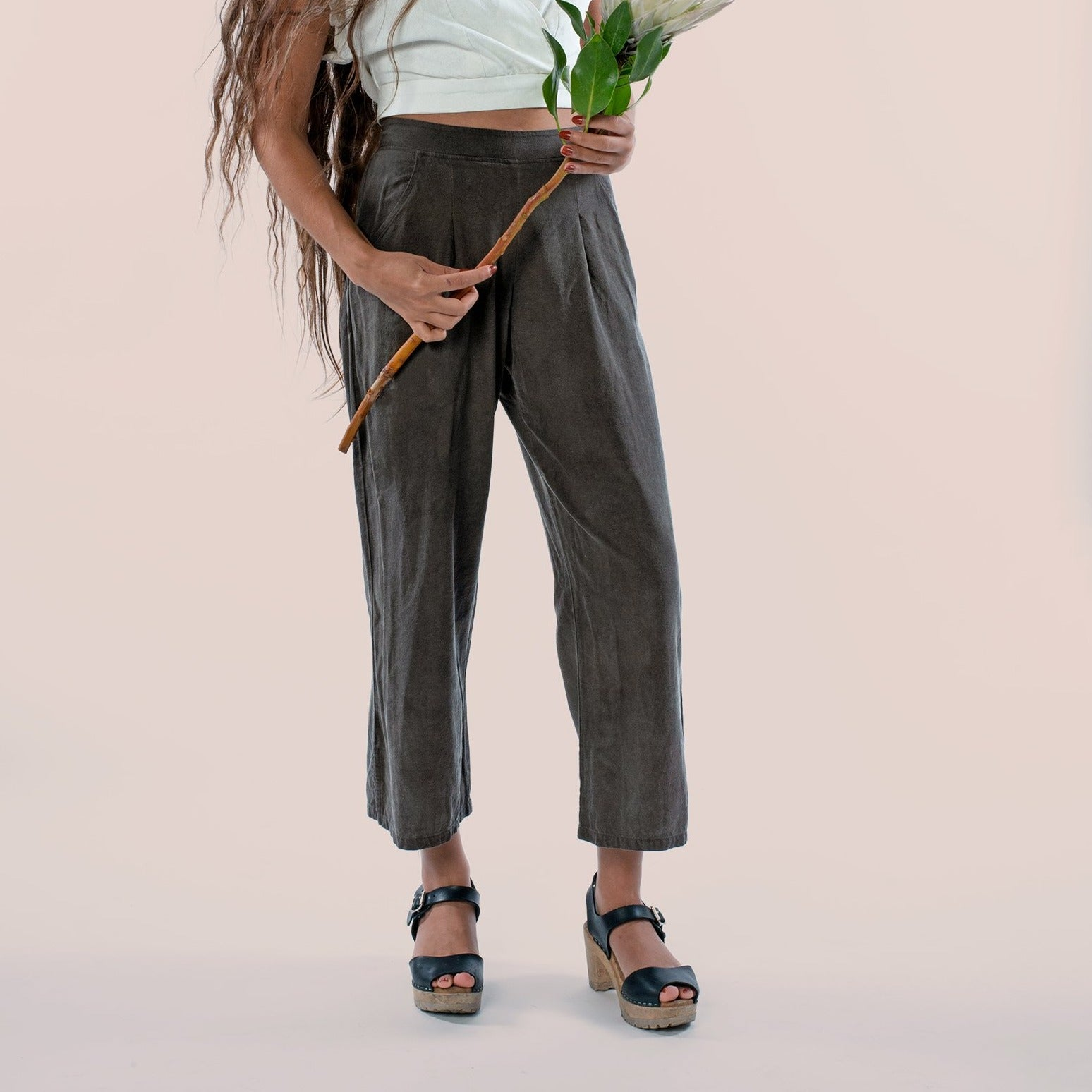 The Pant: Charcoal (Made to Order)