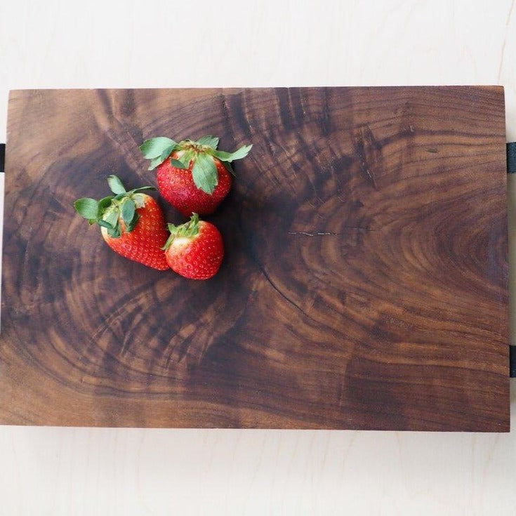 Walnut Charcuterie Serving Tray