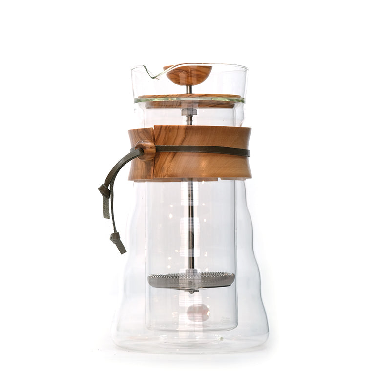 Hario Double Wall Glass Coffee Press 400ml WH