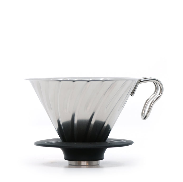 Hario V60 Metal Coffee Silver Dripper