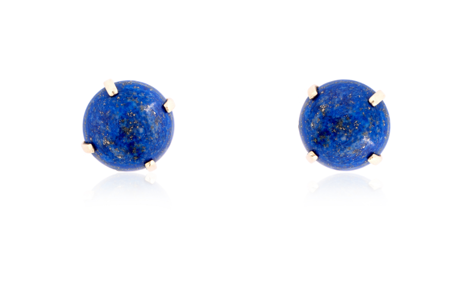 Kelly lapis earrings