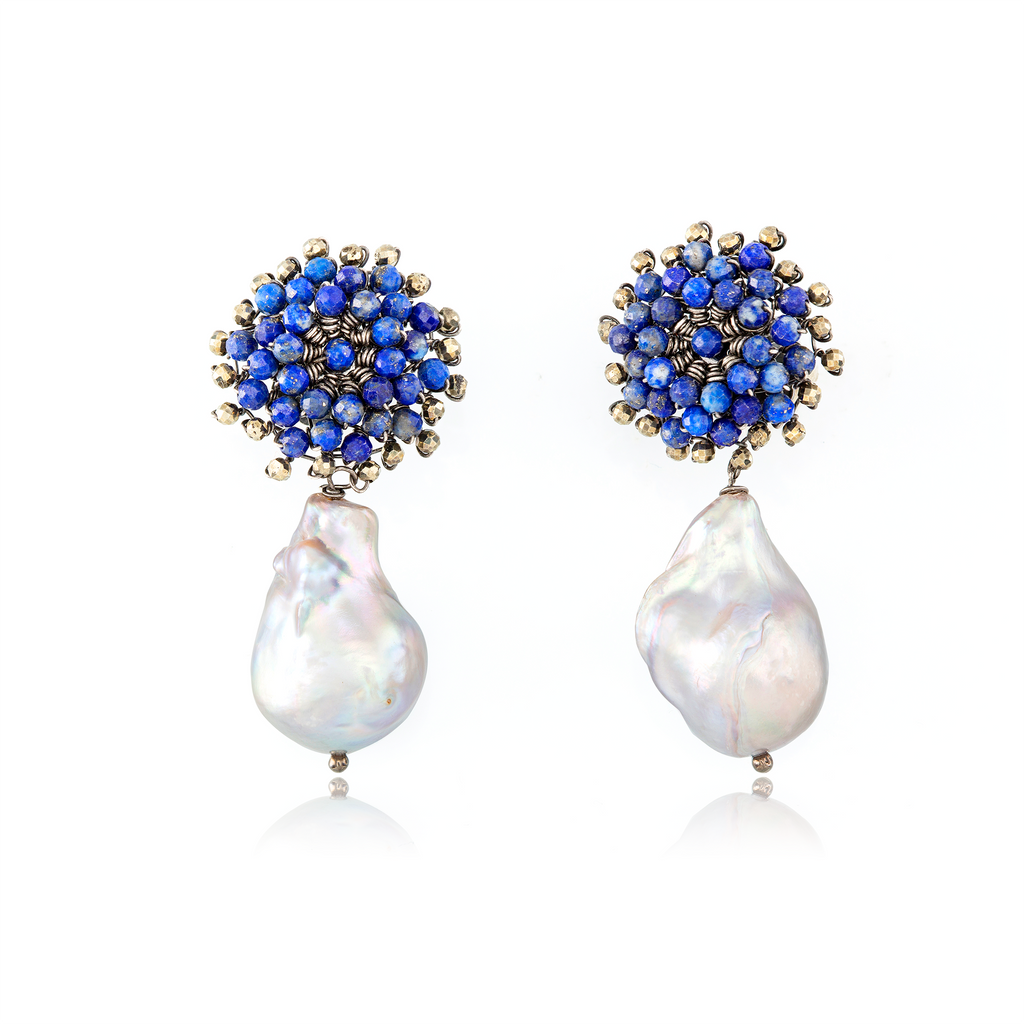 CONSTANTINOPLE PEARL EARRINGS