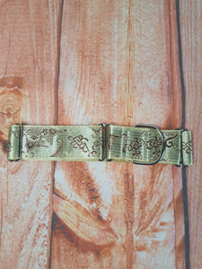 Golden Baroque Dog Martingale