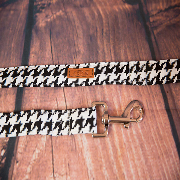 """Houndstooth"" Dog Lead"