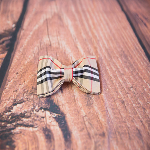 """Pawberry"" Dog Bow Tie"