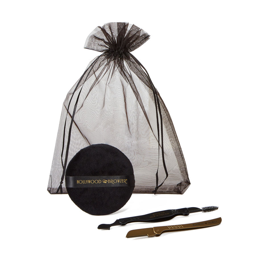 BROW SHAPING & DERMAPLANING KIT