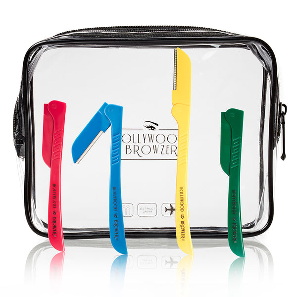 'Four Seasons' Kit In Flight Safe Toiletry Bag-hollywoodbrowzer