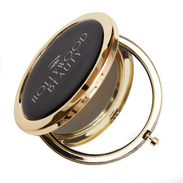 HOLLYWOOD BEAUTY ART DECO COMPACT MIRROR