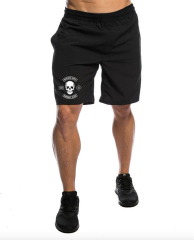 Black Speed Shorts Small Barbell Club