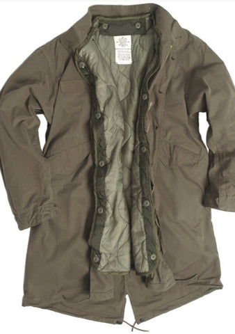 Us Od M65 Shell Parka With Liner