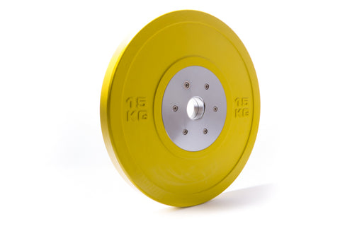 Competition Bumper Plate 15 kg (GorillaGrip)