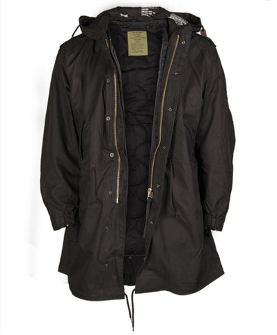 Black M51 Shell Parka With Liner