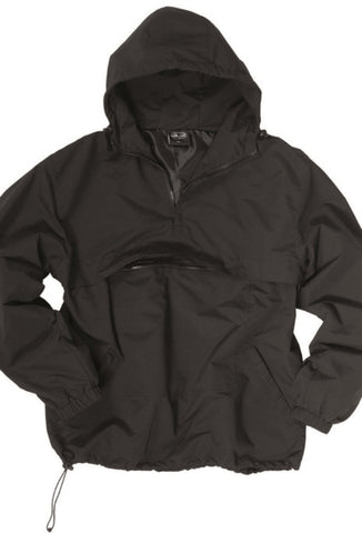 Combat Black Unlined Summer Anorak