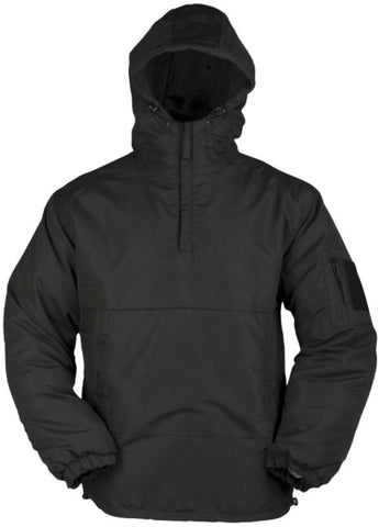 Mil-Tec Black Winter Combat Anorak