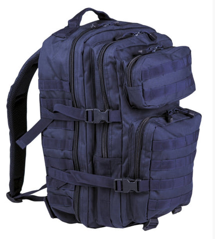 Dark Blue Backpack Us Assault Large