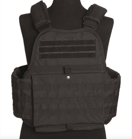 Black Plate Carrier Vest