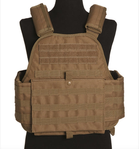 Coyote Plate Carrier Vest