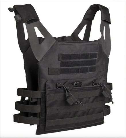 Black Plate Carrier Vest Gen.II