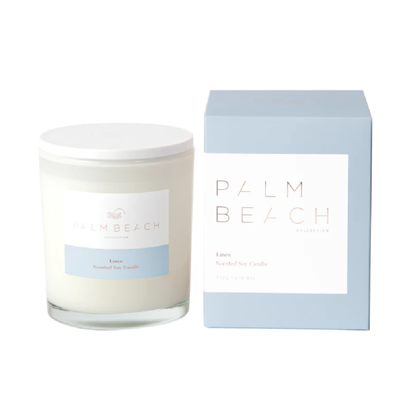 Palm Beach Standard Candle Linen