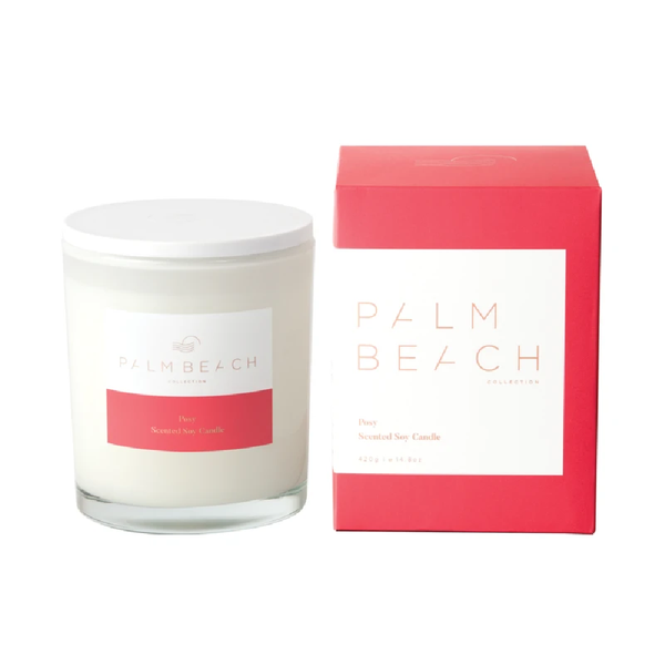 Palm Beach  Standard Candle Posy