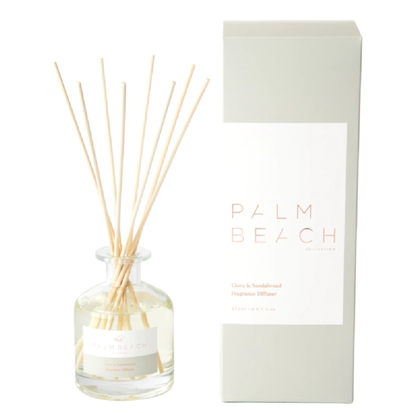 Palm Beach Reed Diffuser Clove & Sandalwood