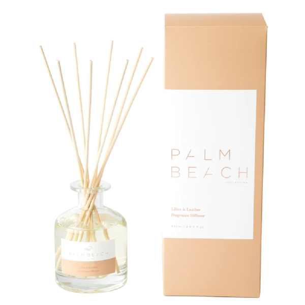 Palm Beach Reed Diffuser Lilies & Leather