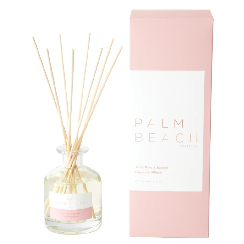 Palm Beach Reed Diffuser White Rose & Jasmine