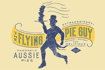 The Flying Pie Guy
