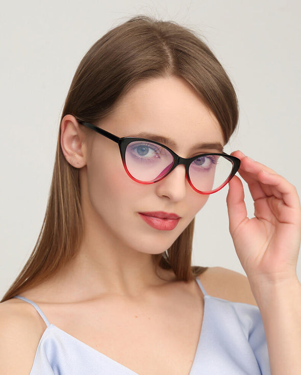 Retro Cat Eye eyeglasses GJ111