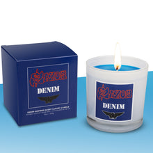 Load image into Gallery viewer, Saxon Denim and Leather Gift Set** - Evoke Candle Co