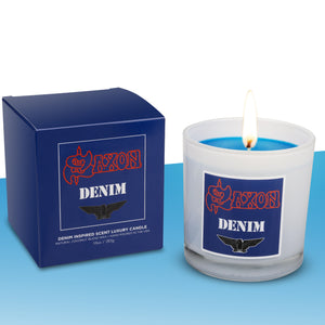 Saxon Denim and Leather Gift Set** - Evoke Candle Co