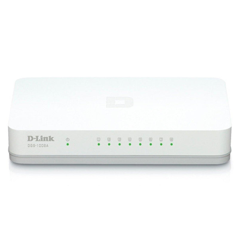 Switch D-LINK DGS-1008A, 8 RJ-45 10/100/1000 Mbps - PERU DATA