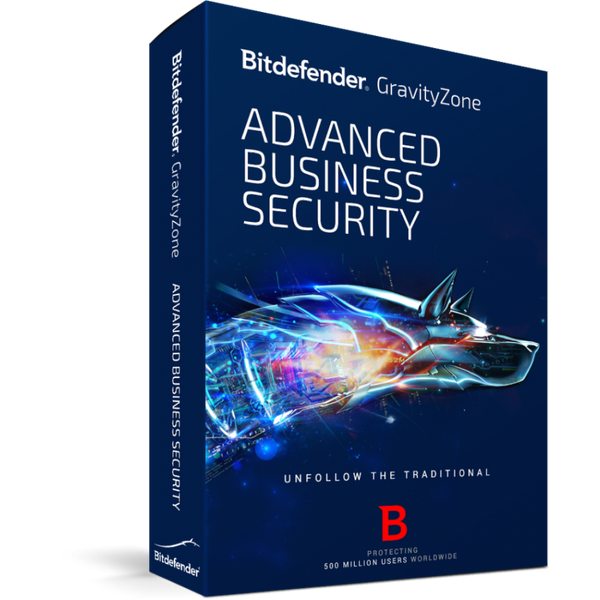 Antivirus Bitdefender GravityZone Business Security  1 año / 1 Server + 10 PCs - PERU DATA