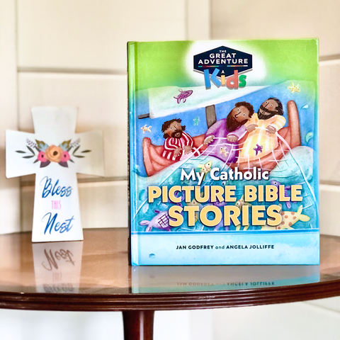 The Great Adventure Kids My Catholic Picture Bible Stories