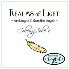 Realms of Light Coloring Pages