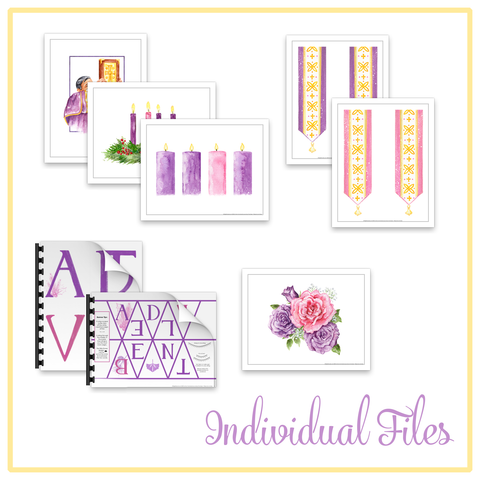 "Individual Clip Art Images- ""Advent Collection"""
