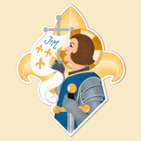 Sticker- St. Joan of Arc