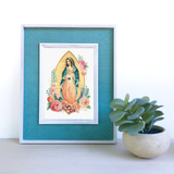 "5"" x 7"" Our Lady of Guadalupe Print"