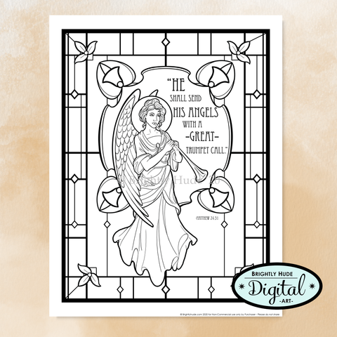 "Individual Coloring Pages- ""Realms of Light"""