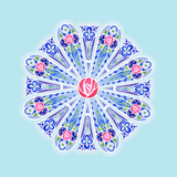 Sticker- Rose Window