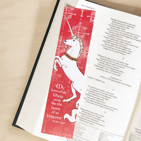 Bookmark- Unicorn