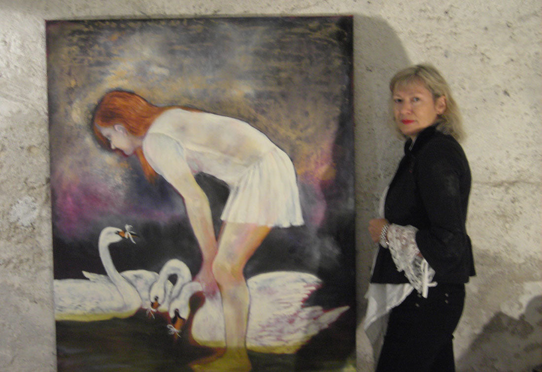 Therese Nortvedts utstilling i Galerie Christian Roellin, St. Gallen, Sveits