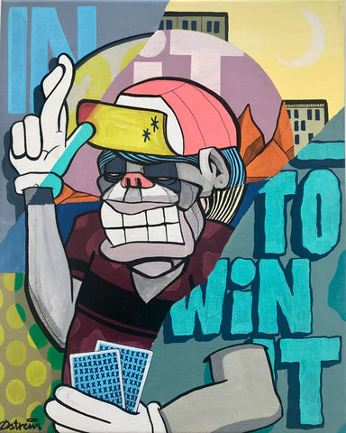 In it to win it -  Giclee - Atle Østrem | Neo Galleri