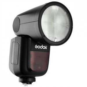 Round Head Speedlite camera Flash for Fuji cameras front view