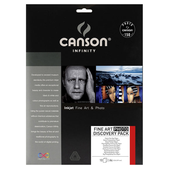 Canson Discovery Pack Fine Art Photo